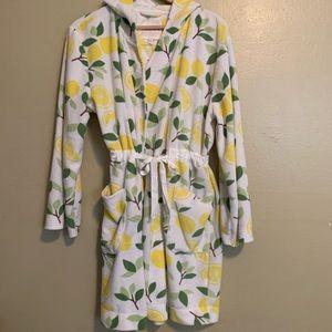 Dearfoams | Lemon Terrycloth Robe | Large L